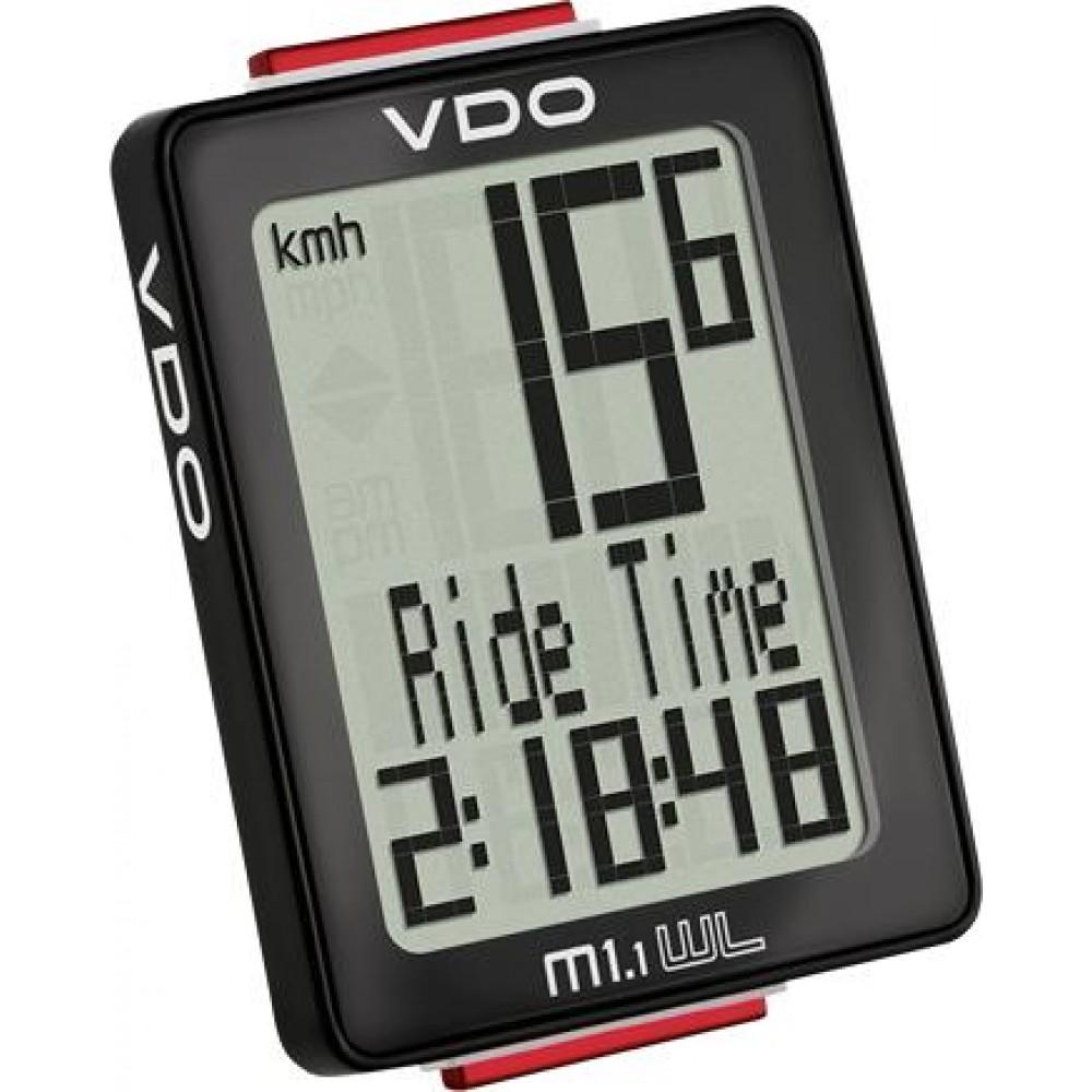 Kilóméteróra VDO 1.1 WL vezeték nélküli