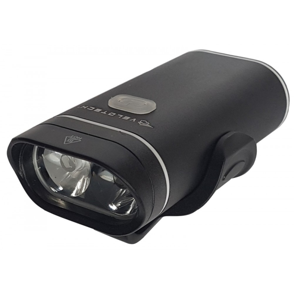 Lámpa első Velotech Pro 500